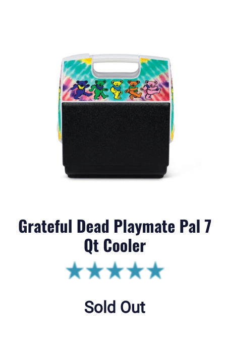 grateful dead igloo cooler